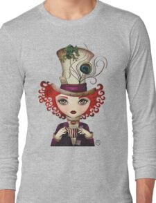 Lady Hatter Long Sleeve T-Shirt