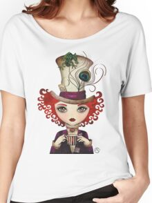 Lady Hatter Women's Relaxed Fit T-Shirt