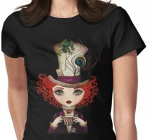 Lady Hatter Womens Fitted T-Shirt
