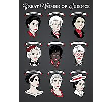 Great Women of Science {Set} Photographic Print