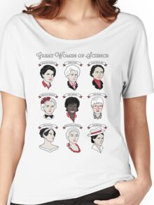 Great Women of Science {Set} Women's Relaxed Fit T-Shirt