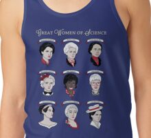 Great Women of Science {Set} Tank Top