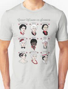 Great Women of Science {Set} Unisex T-Shirt