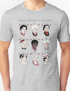 Great Women of Science {Set} Unisex T-Shirt