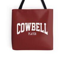 Cowbell Player Tote Bag