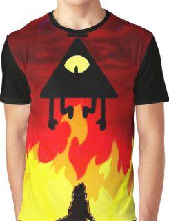Flaming Bill Graphic T-Shirt