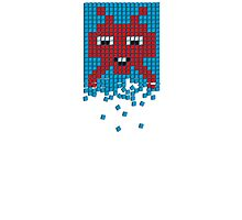 PIXEL8 | Space Invaders Melt Photographic Print