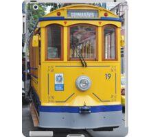 Old-fashioned bonde tram  iPad Case/Skin