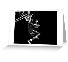 Micheal Jordan   Greeting Card