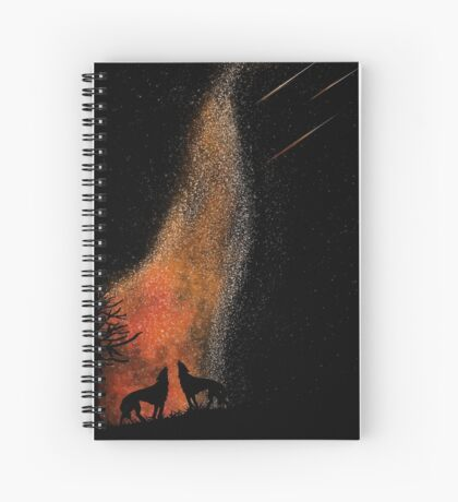 Wolf Territory Spiral Notebook