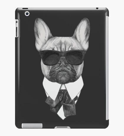 French Bulldog In Black iPad Case/Skin