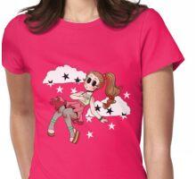 Chibi Fashion Girl #17 Womens Fitted T-Shirt