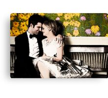Ben and Leslie Canvas Print