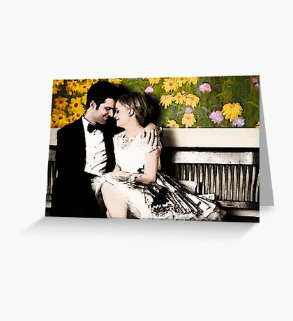 Ben and Leslie Greeting Card