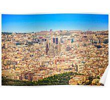 BARCELONA, La Sagrada Familia  Poster