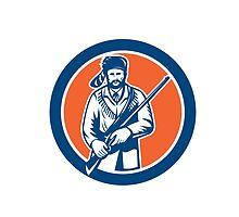 Davy Crockett American Frontiersman by patrimonio