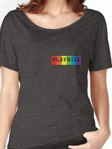 Pride Playbill Women's Relaxed Fit T-Shirt