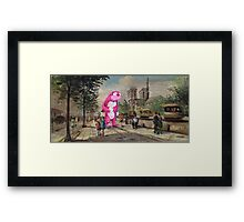 The Tourist Framed Print