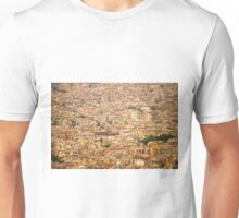 Barcelona - areal view Unisex T-Shirt