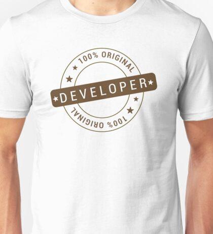 100% Original Developer Unisex T-Shirt