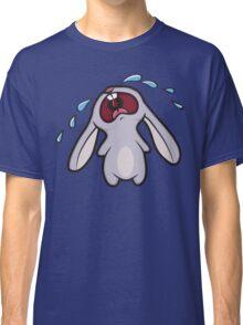 Sad Crying Bunny Rabbit Classic T-Shirt