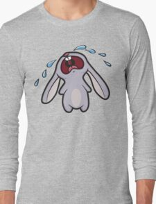 Bawling Bunny Long Sleeve T-Shirt