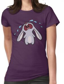Bawling Bunny Womens Fitted T-Shirt