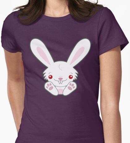 Cute Kawaii Vampire Bunny with Bite T-Shirt