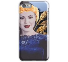 Evil Queen- blue and gold  iPhone Case/Skin
