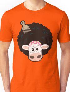 Afro Cow Unisex T-Shirt