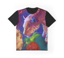 space leopard Graphic T-Shirt