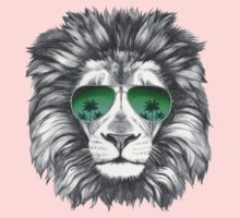 Lion with sunglasses One Piece - Long Sleeve