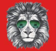 Lion with sunglasses Kids Tee