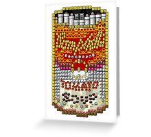 Souper Mario World Greeting Card