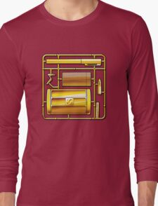THE MAN WITH THE GOLDEN KIT Long Sleeve T-Shirt