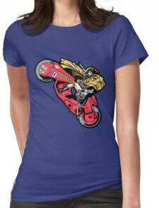 EMPEROR WHEELIE Womens Fitted T-Shirt