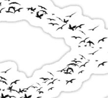 True Detective  Birds Symbol Sticker