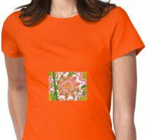 bambu zen cat Womens Fitted T-Shirt