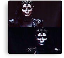 Skull Queen- Regina OUAT Canvas Print
