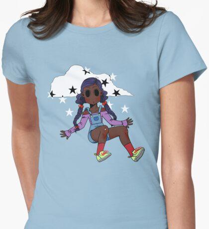 Chibi Fashion Girl #18 Womens Fitted T-Shirt