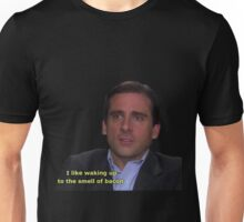 michael scott bacon quote  Unisex T-Shirt