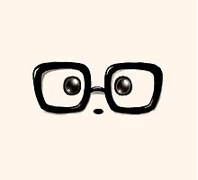 Geek Chic Panda Eyes by Panda And Polar Bear