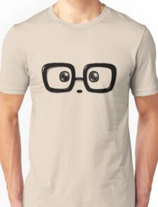 Geek Chic Panda Eyes Unisex T-Shirt