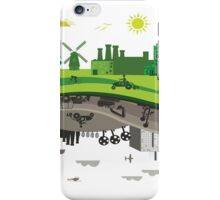 Eco vs Polluted iPhone Case/Skin