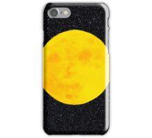 Full Moon, Black Space by IdeaJones iPhone Case/Skin