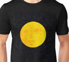 Full Moon, Black Space by IdeaJones Unisex T-Shirt