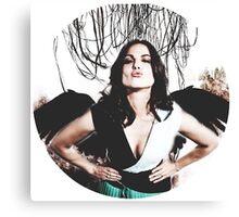 Lana Parrilla- angel icon  Canvas Print