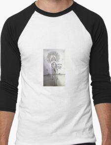 Afro Goon Men's Baseball ¾ T-Shirt