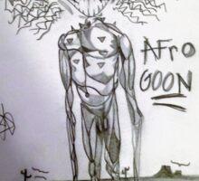 Afro Goon Sticker