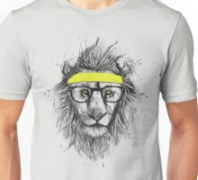 Hipster lion Unisex T-Shirt